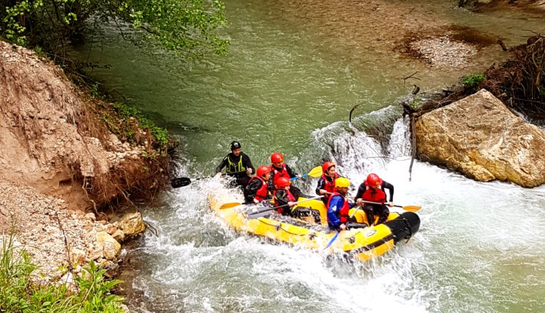 Rafting in Valnerina Umbria